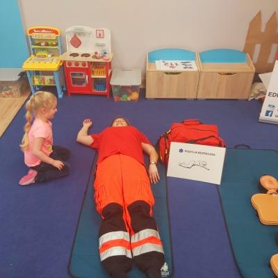 Bezpieczny Miś czyli warsztaty z pierwszej pomocy